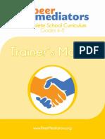 Peer Mediators - Trainer's Manual   (2012).pdf