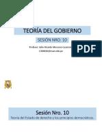 teoría Del Gobierno diapositivas