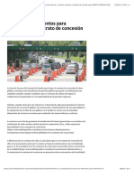 Conozca los elementos para identificar un contrato de concesión de obra pública | Noticias jurídicas y análisis de nuevas leyes AMBITOJURIDICO.COM