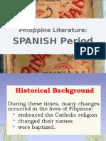 Phil Lit Spanish Period