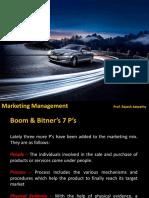 9 MM Marketing Mix 7P 2018