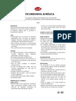 D-30 - Anticorrosiva Acrilica Al Agua-2015