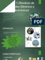 RAEE´S (Residuos de Aparatos Eléctricos y Electrónicos