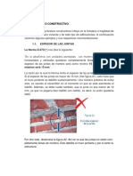 Proceso Constructivo de Muro y Columna