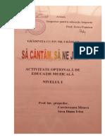 Corcioveanu M., Sava D - Optional