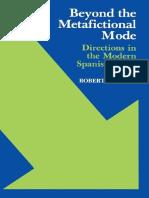Robert C. Spires-Beyond the metafictional mode _ directions in the modern spanish novel-University Press of Kentucky (1984).pdf