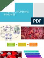 Trombocitopenias inmunes