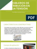 Unidad 3 3.4 Tableros de Distribucion en Baja Tension Oscar Villalvazo