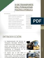 Servicio de Transporte Municipal Pumakatari