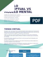 Modelo Conceptual vs Modeo Mental