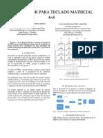 Codificador Para Teclado Matricial 4x4