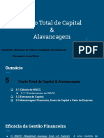 Custo Total de Capital & Alavancagem