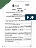 Resolucion 0003752 - 2015 Mintransporte