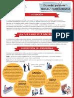 Ficha Del Paciente de Rehabilitacion Cardiaca - Sociedad Española Del Corazón