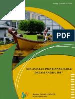 Kecamatan Pontianak Barat Dalam Angka 2017