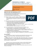 Professional Etics Module - 1.NEW