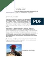 Ejemplos de Marketing Social 2
