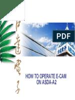 Como operar ECAM ON ASDA-A2