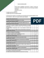 Ficha de Autoveluación u3