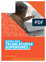 Folleto Tecnicaturas 2018