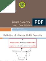 Uplift Capacity