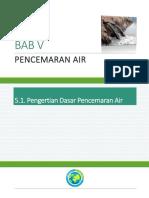 [Salinan Buku] BAB v Pencemaran Air