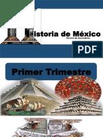Historia de México TERCERO de SECUNDARIA Primer Trimestre Completo