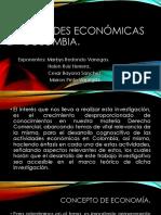 Actividades Económicas en Colombia. COMERCIAL