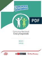 Bases crea y emprende 2019 - I