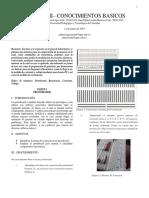 Informe II Conocimientos Basicos