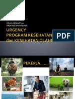 Urgency Kesja 2017