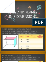 Line and Plane in 3D
