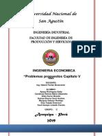 Ingeniería económica cap v