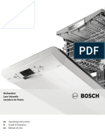 Bosch Shx7er55uc Use and Care Manual