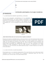 5 PARA TODO_ El Feminismo Está Volviendo Psicópata a La Mujer Moderna (5 RASGOS)
