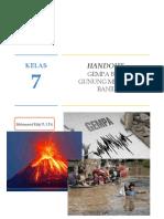 handout mitigasi bencana