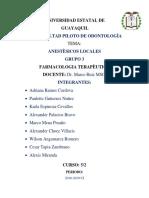 GRUPO 3- ANESTÈSICOS DEFINITIVO