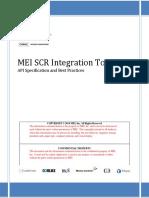MEI SCR Integration Toolkit