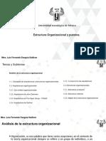 Análisis de La Estructura Organizacional