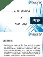 Relatórios de Auditoria (Parecer)