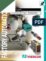 Type Designation Code for Photo Sensors