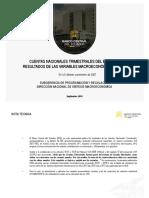 Cuentas Nacionales Trimestrales Del Ecuador 2018
