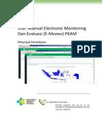 User Manual Pengembangan E Monev PKAM