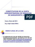 CONSTITUCION DE LAS JAAS