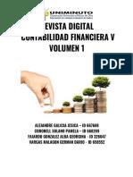 Volumen 1 - Revista Digital Contabilidad Financiera v