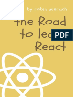 The road to learn React