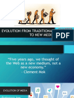 Chapter2 Evolution From Traditional to New Media