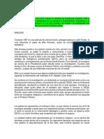 Analisis Pelicula CONTACTO