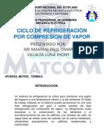 refrigeracion x compresion de vapor.ppt