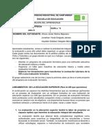 Lineamientos de evaluación formativa